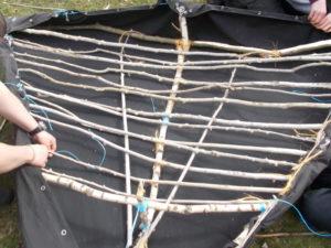 Kohtenboot - sitzflaeche